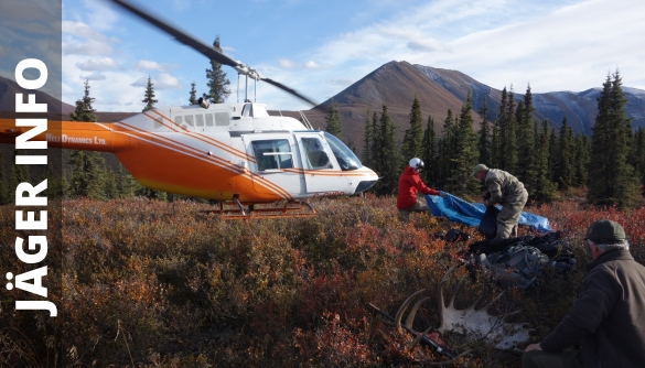 South Nahanni helicopter landing
